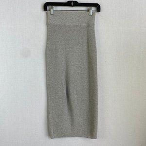 ARITZIA WILFRED Gray Midi Skirt